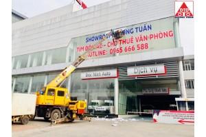 Công ty TNHH Dương Tuấn chuyên bán và cho thuê xe nâng, xe cẩu và nâng cẩu tự hành